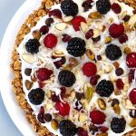 Try this Fruity Granola Breakfast Pizza for a fresh and colorfulstart to your day. It's so easy to make and comes together in no time!
